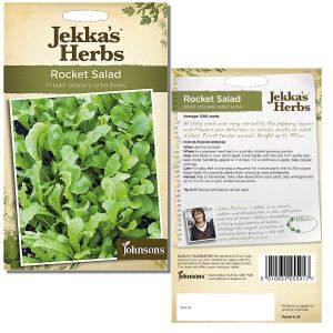 Jekka's Herbs - Rocket Salad Seeds by Johnsons