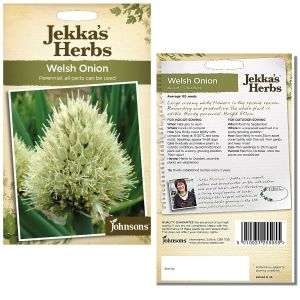 Jekka's Herbs - Welsh Onion Seeds by Johnsons