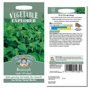 Mr. Fothergill's Seeds - Broccoli raab ' 60 days'