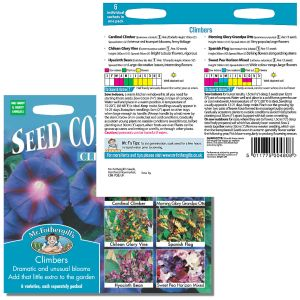 Mr. Fothergill's Seeds - Climbers Seed Collections