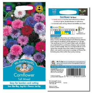 Mr. Fothergill's Seeds - Cornflower Tall Mixed