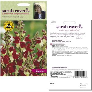 Sarah Raven's Antirrhinum 'Night & Day' Seeds by Johnsons