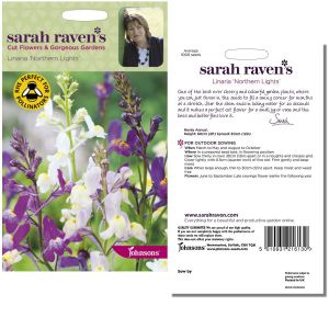 Sarah Raven's Linaria 'Northern Lights' Seeds by Johnsons