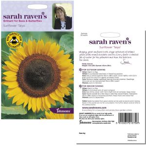 Sarah Raven's Sunflower 'Taiyo' Seeds by Johnsons