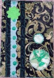 Karin McElvein, Green Collage