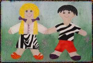 Sue Andrus, R24, Paper Dolls 1