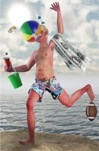 Beach Guy Shamus Clisset