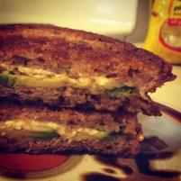 Vegan Avocado Grilled Cheese