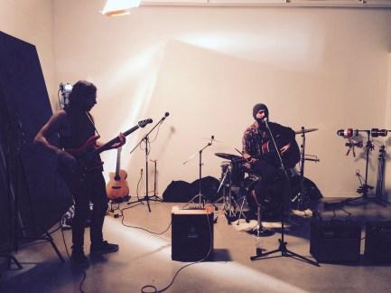 Noah Pascoe, Bil Bertram on bass and Dan Juric on Drums