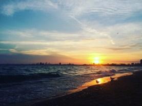 Watching the Sunset at Toronto Island