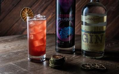 Elder Gin Fizz