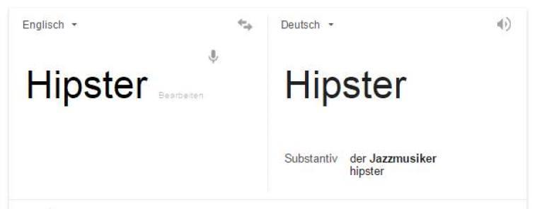 Hipster Bedeutung Definition Google
