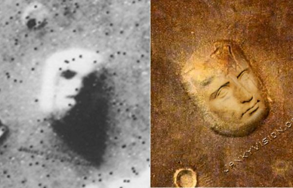 Face on Mars turns out to be somebody else