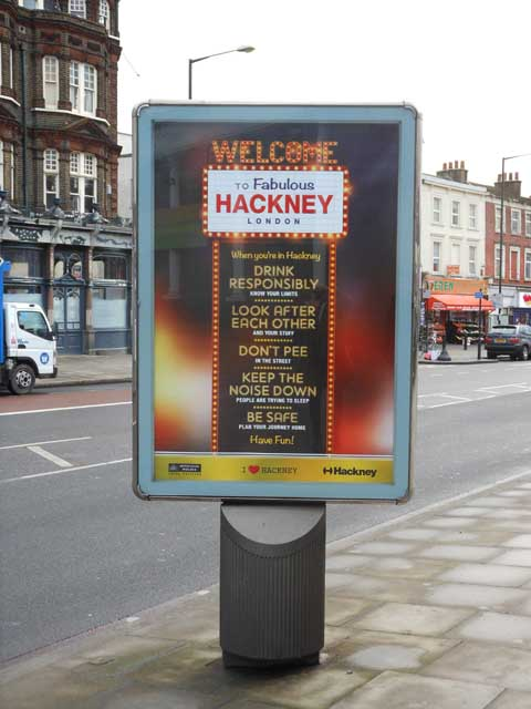 Hackney Welcome