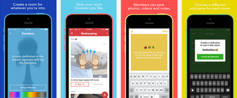 Facebook Launches Rooms An App To Create Something