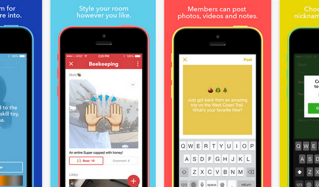 Facebook Launches Rooms - An App to Create Something Together
