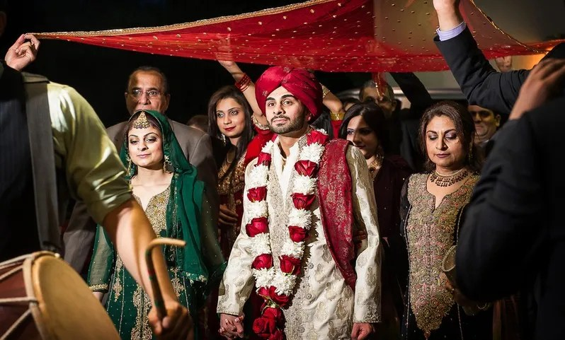 a Pakistani wedding