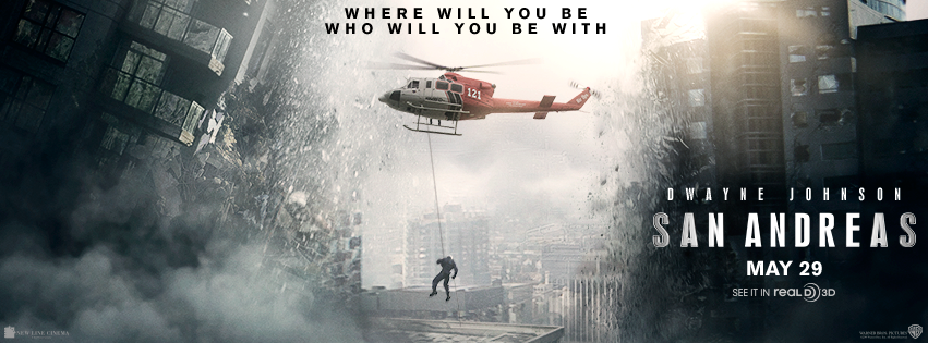 Dwayne Johnson Stars in San Andreas - Watch The Official Trailer