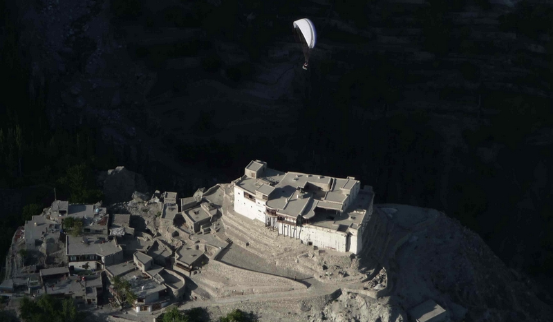Baltit Fort - historical monuments in Pakistan