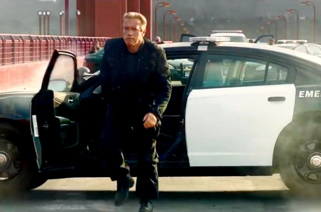 Arnold Schwarzenegger in Genisys: Big Game Spot