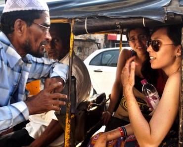Travelers in India