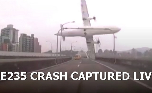 TransAsia Airways Flight GE235 plane crash