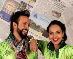 Cricket Couple Marriage