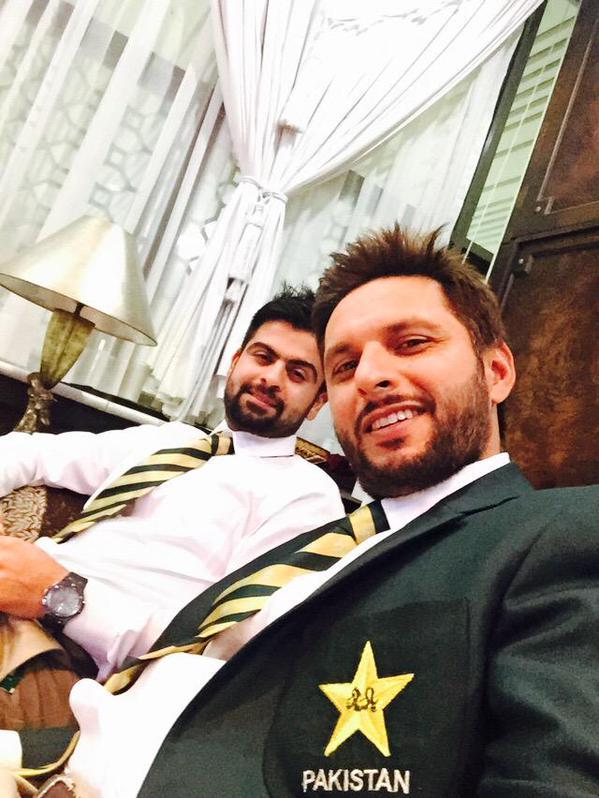 Shahid Afridi & Ahmed Shahzad