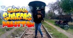Subway Surfers Pakistan – Pakistani Guys Take The Mobile Game to Real Life