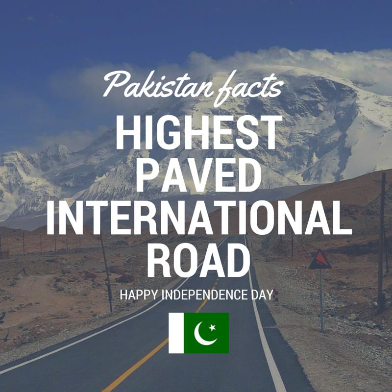 10 Facts About Pakistan You Must Know on Its 69th Independence Day