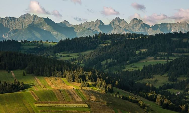 Tenth place: High Tatras as seen from the Polish Spisz, Tatry Natura 2000 Special Area of Conservation, Lesser Poland Voivodeship, Poland. — Photo by Łukasz Śmigasiewicz