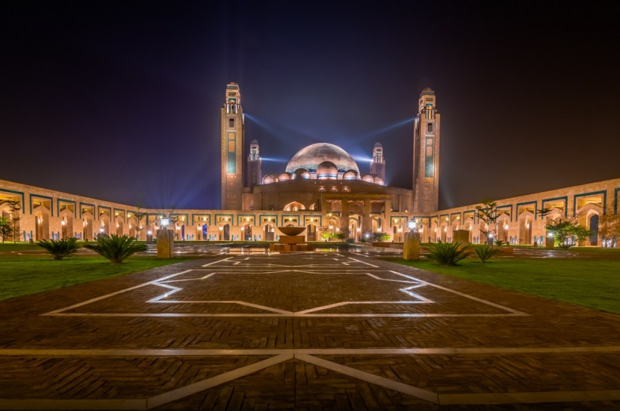 Bahria Grand Mosque by Omar Abbas
