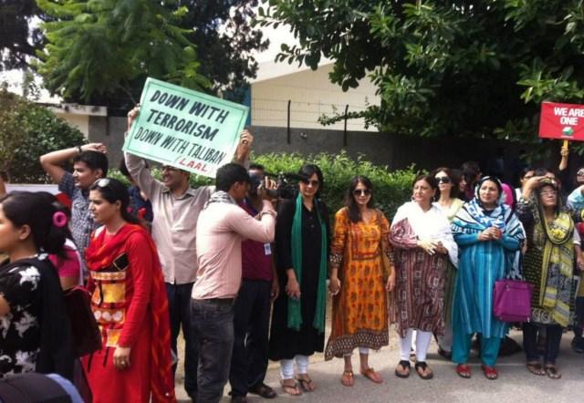 Pakistani civil rights activists by Jibran Nasir