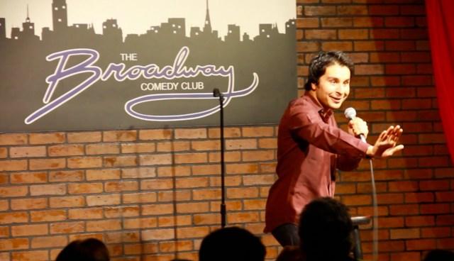 Pakistani standup comedia Saad Haroon