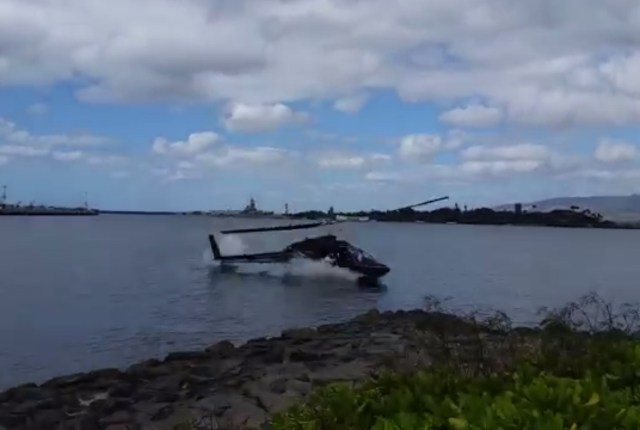 Pearl Harbor Helicopter Crash Video Caught on Camera by Eyewitness