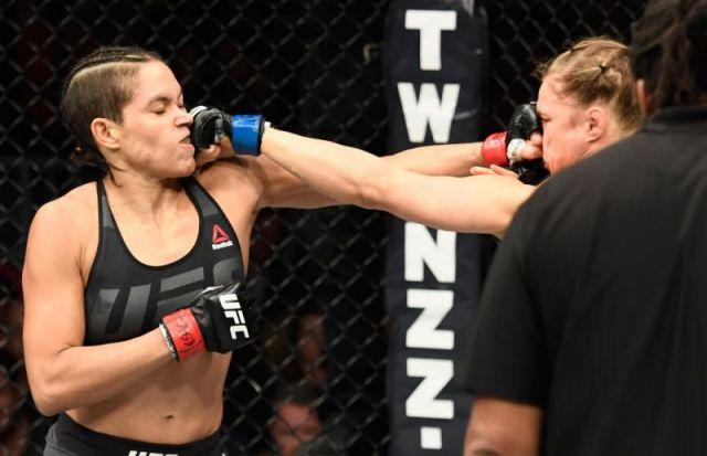 Amanda Nunes vs Rhonda Rousey