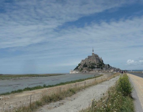 day 8: Il cammino verso Mont-Saint-Michel... come veri pellegrini