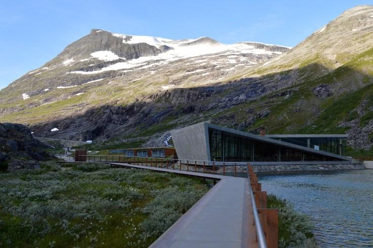 Il centro visitatori a Trollstigen