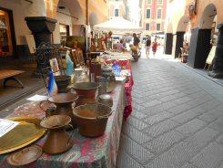 Il mercato antiquario nel caruggio