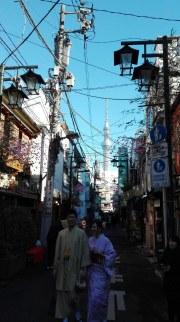 Contrasti ad Asakusa