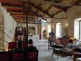 L'interno di Casa Baladin
