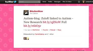 autism now