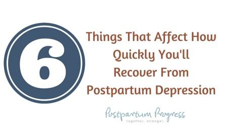 how long does postpartum depression last