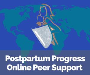 postpartum progress online peer support