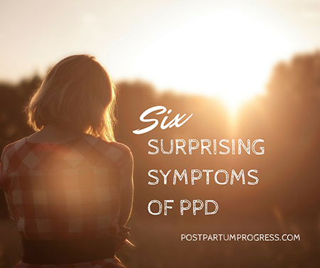 Six Surprising Symptoms of PPD