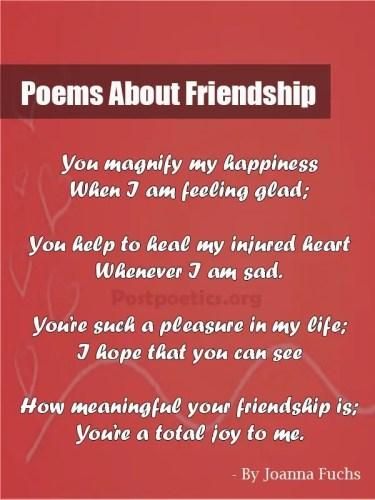Best Friendship Poems