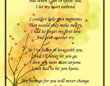 i love you poems for sweet heart