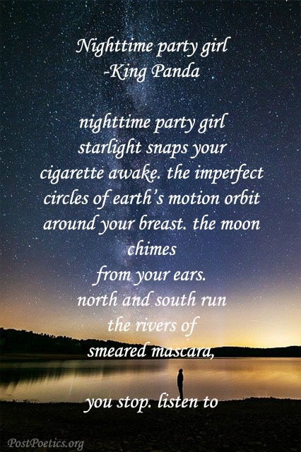 night time poetry