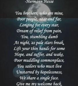 nighttime in poetry word