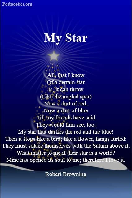 Poem about stars in the sky